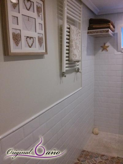 Ideas Para Decorar Baños Con Azulejos:Ideas de decoracion de Baños Vintage Paredes pintadas y con azulejo
