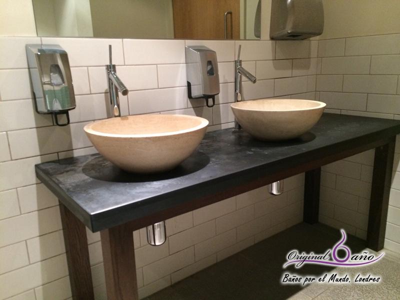 Accesorios de ba o original ba o original ba o - Encimeras de cristal para lavabos ...