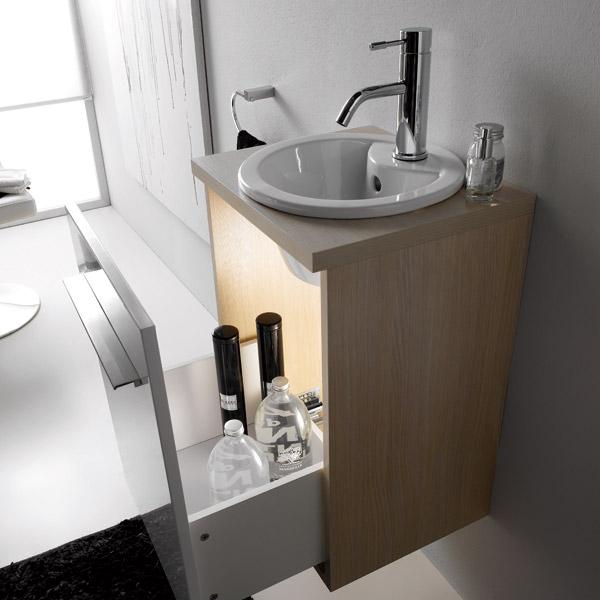Muebles para bano espacios pequenos - Muebles toalleros para banos ...