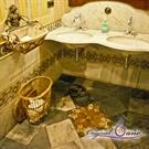 Imagen de la categoría Baños con encanto. El baño romantico del Cafe Royalty en Cadiz.