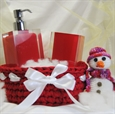 Imagen de Cesta de baño Dulce Navidad
