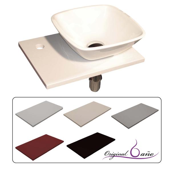 Muebles Baño Para Lavabos Sobre Encimera: